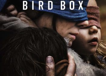 The official poster for Bird Box, an original Netflix film.