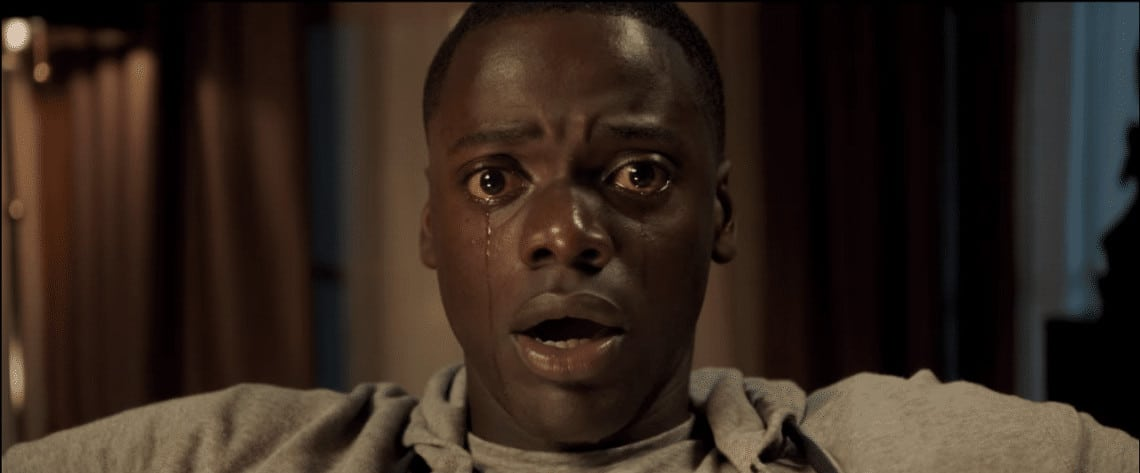A still from the movie 'Get Out' by Jordan Peele.