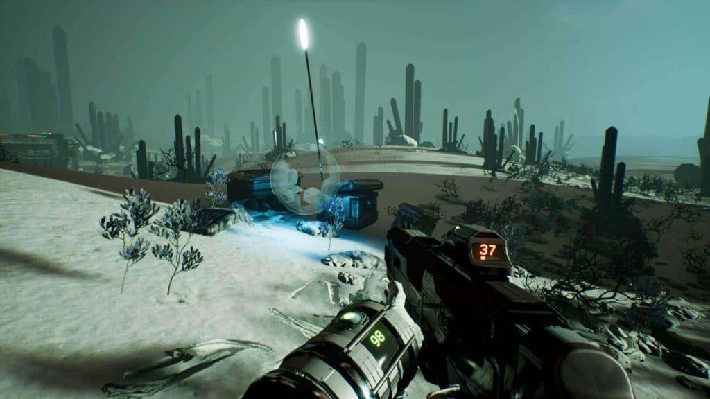 A screenshot from Genesis Alpha One