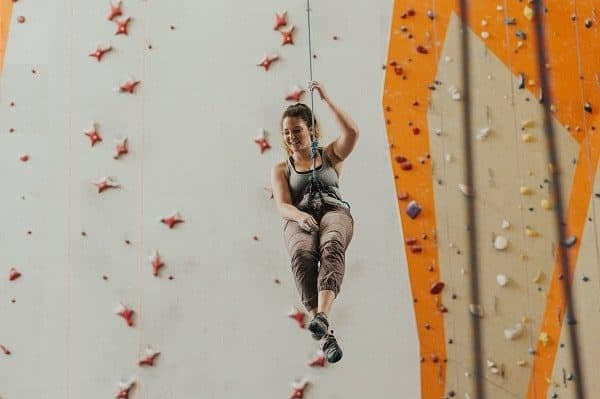 fun and exciting indoor climbing