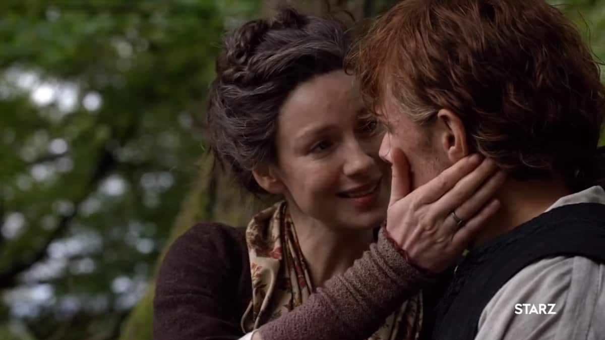 Jamie and Claire show their age (Image Credits: Starz)