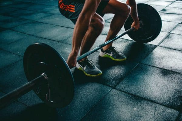 Lifting weights, or any type of resistance exercise is good for lactic acid training.