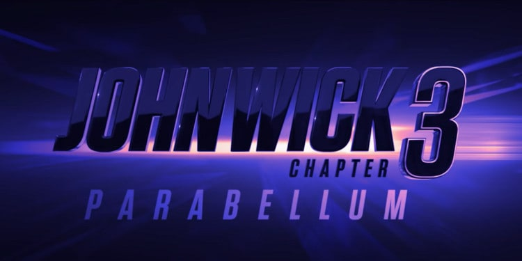 John Wick 3 Title Card (Image Credits: Summit Entertainment / Lionsgate)