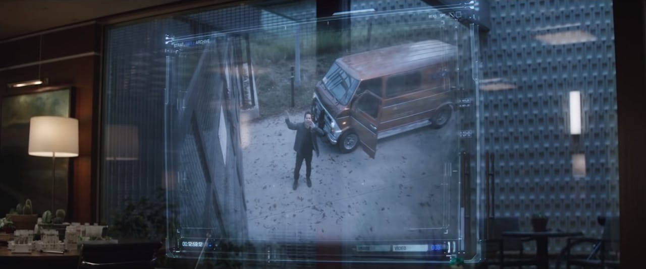 Scott Lang back in the real world with his mobile laboratory (Image Credits: Marvel Studios)
