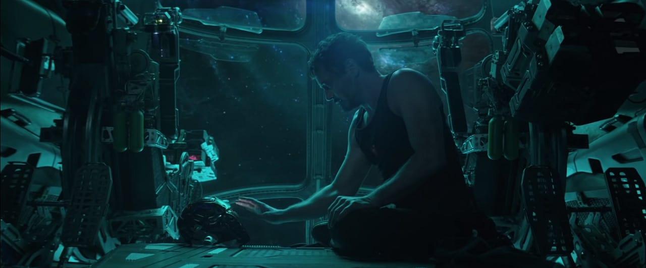 Tony Stark says goodbye to Pepper Pots light years away (Image Credits: Marvel Studios)