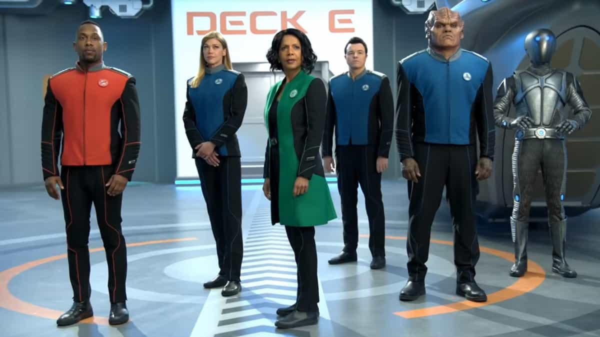 A snapshot of The Orville's crew (Image Credits: 20th Century Fox Television)