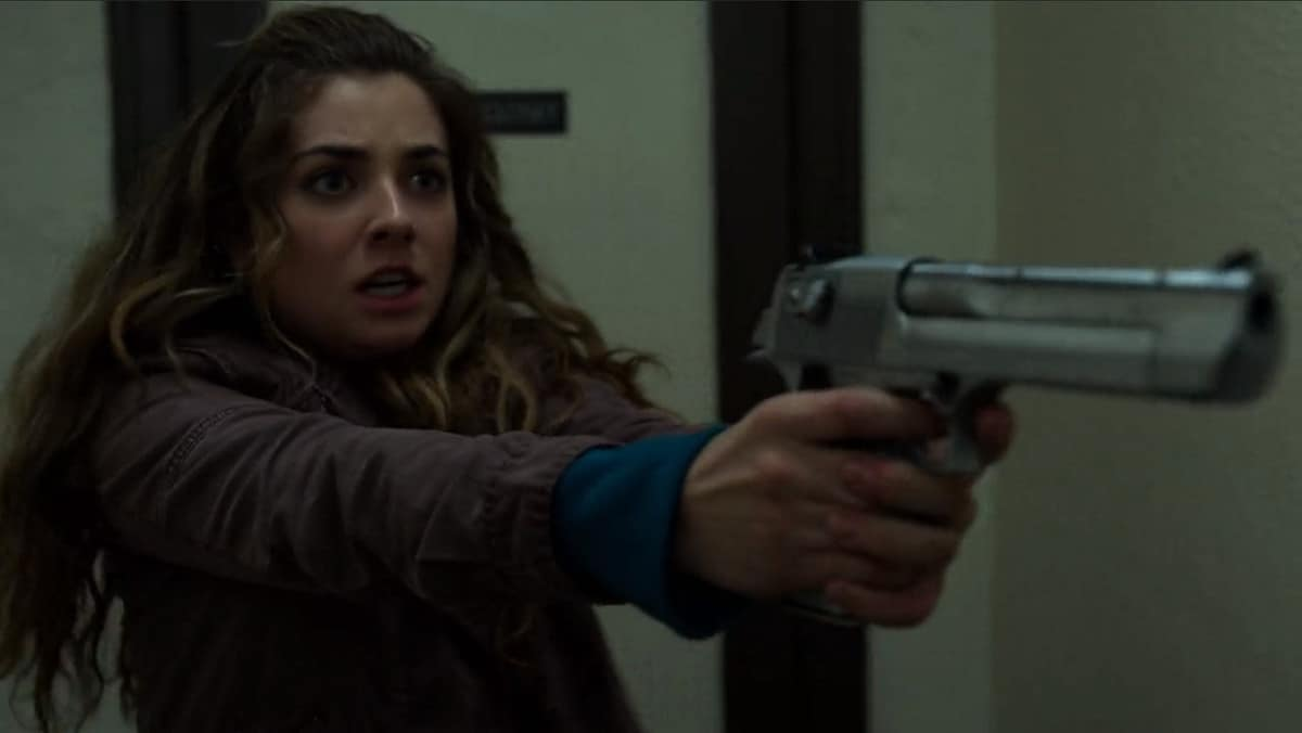 Amy Bendix turns the tables on one of her assailants (Image Credits: Marvel / Netflix)