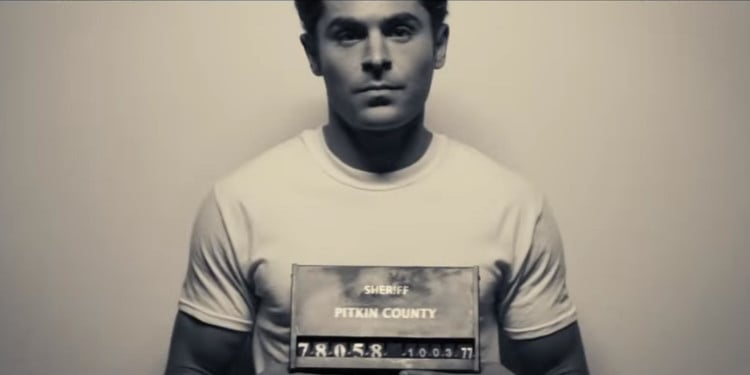 Ted Bundy gets his mugshot taken (Image Credits: Voltage Pictures)