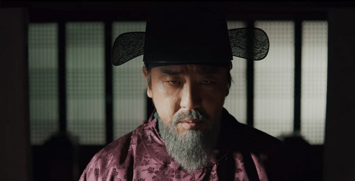 Minister Cho Hak-Jo eliminates all the subversive scholars in the land (Image Credits: Netflix)