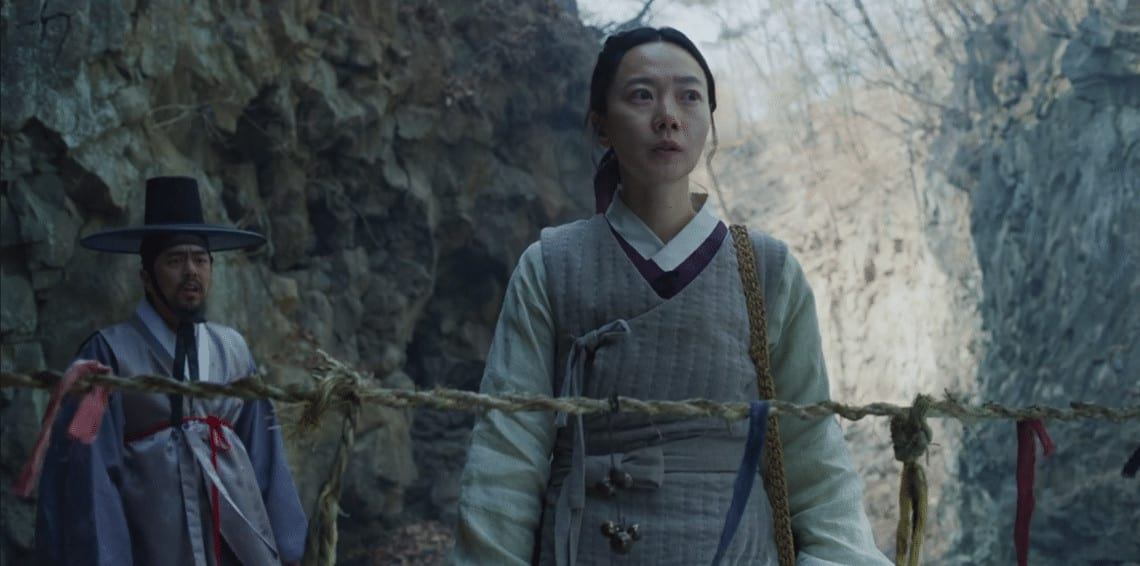 Seo-bi and her companion find themselves in the Frozen Valley (Image Credits: Netflix)