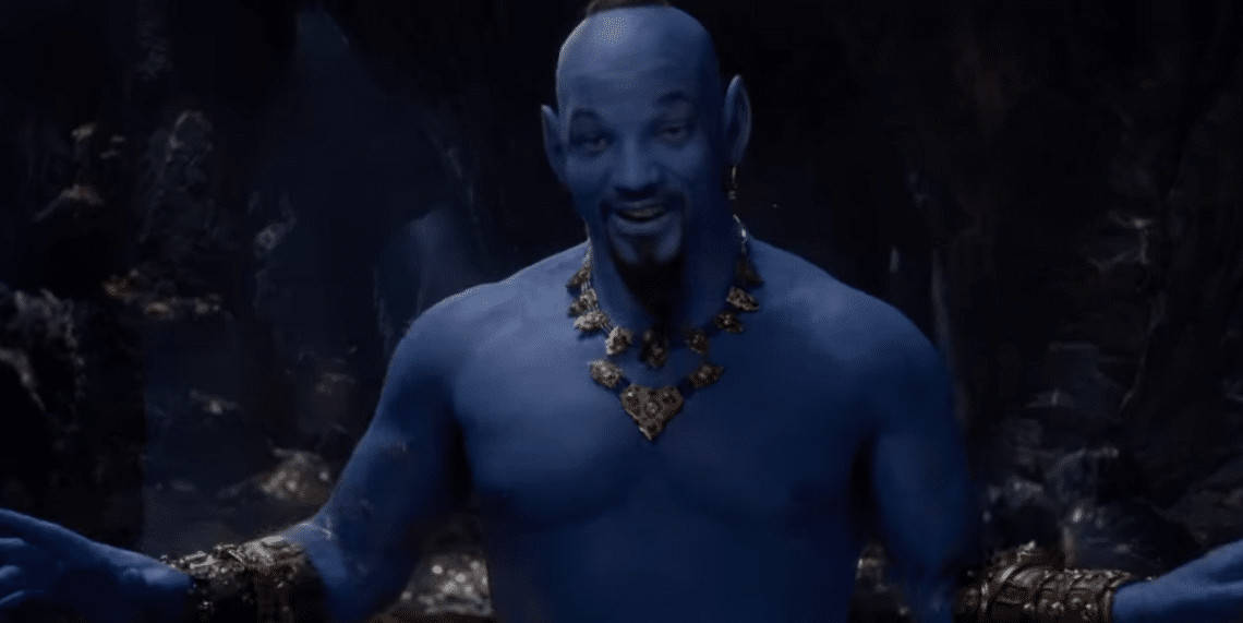 The controversial Will Smith Genie (Image Credits: Walt Disney Studios)