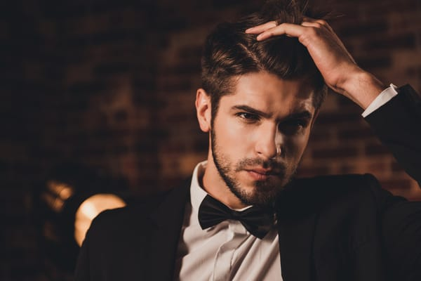 short hairstyles for men classy suit