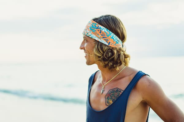 guys with longer hair surfer