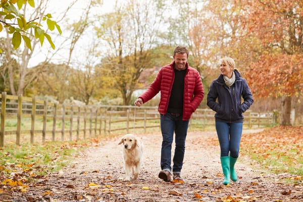 Walking leisurely with a partner has a place in health and wellness