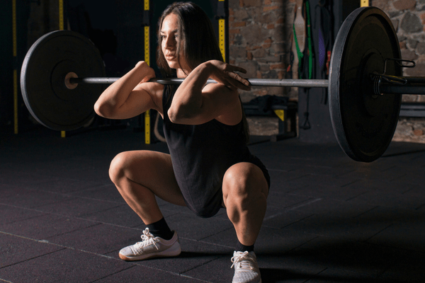 How to properly do a barbell front squat