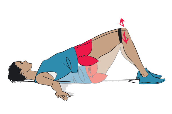 How to properly do banded glute bridges