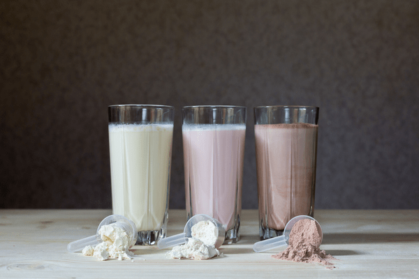 Protein shakes offer lots of protein, great for a post-workout meal