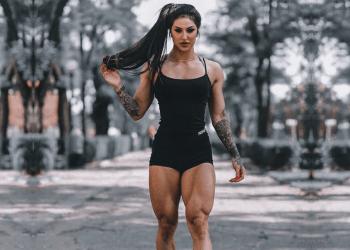 Self-proclaimed Miss Iron Bum Bakhar Nabieva's Diet and Exercise