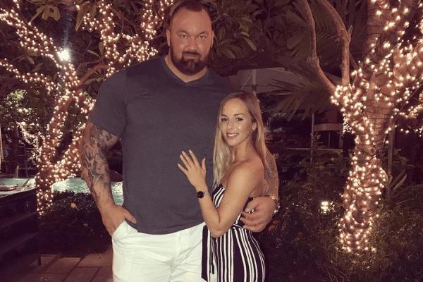How Hafthor Bjornsson's Beautiful Wife Kelsey Henson Keeps Her Body in Shape