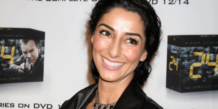 Does Necar Zadegan Have A Personal Trainer?