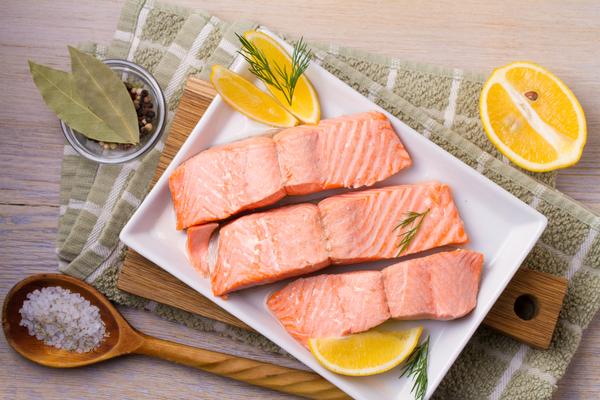 Steamed / Poached Salmon