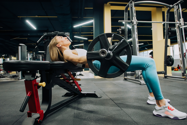 Banded Barbell Hip Thrust