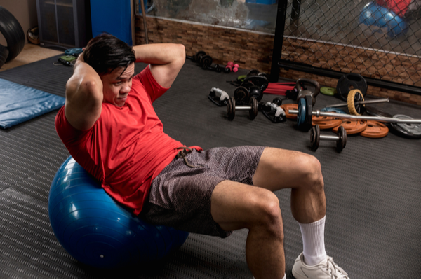 Stability Ball Sit-Ups