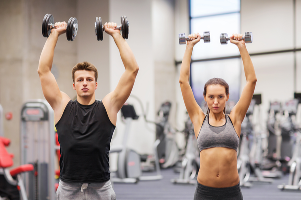Shoulder Press for Push Day Workouts