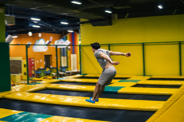 Olympic Trampoline Moves