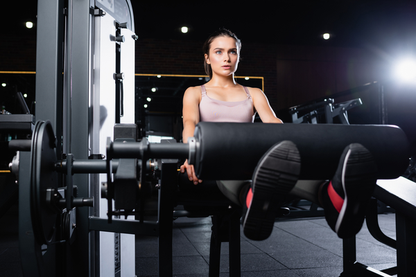 Benefits of Doing Exercise on a Leg Extension Machine